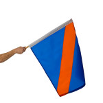 "Move To Outside Auto Racing Flag 24"" x 30"""