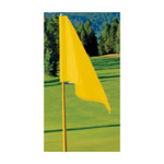 FM Yellow Golf Flag