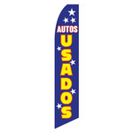 Autos Usados (Used Cars) Feather Flag