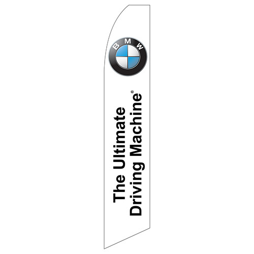 the ultimate driving machine bmw feather flag. Black Bedroom Furniture Sets. Home Design Ideas