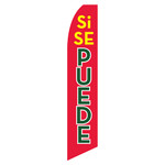 "Si Se Puede (""Yes You Can"") Feather Flag"