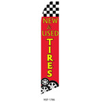 New & Used Tires Feather Flag