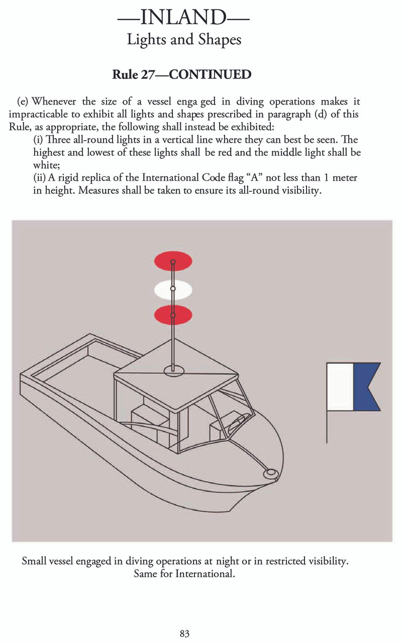 U.S. Coast Guard Navigation Rules and Regulations Handbook - page 83