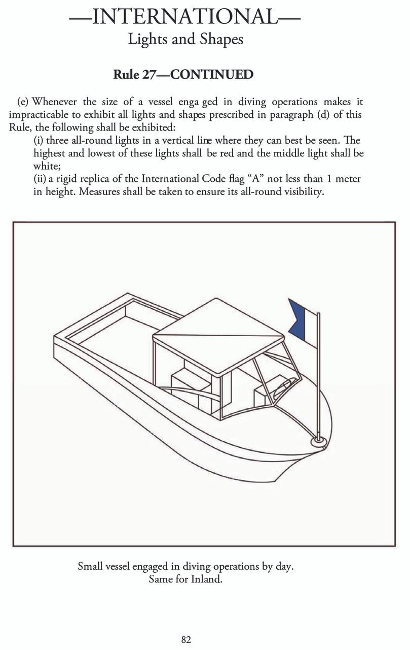 U.S. Coast Guard Navigation Rules and Regulations Handbook - page 82
