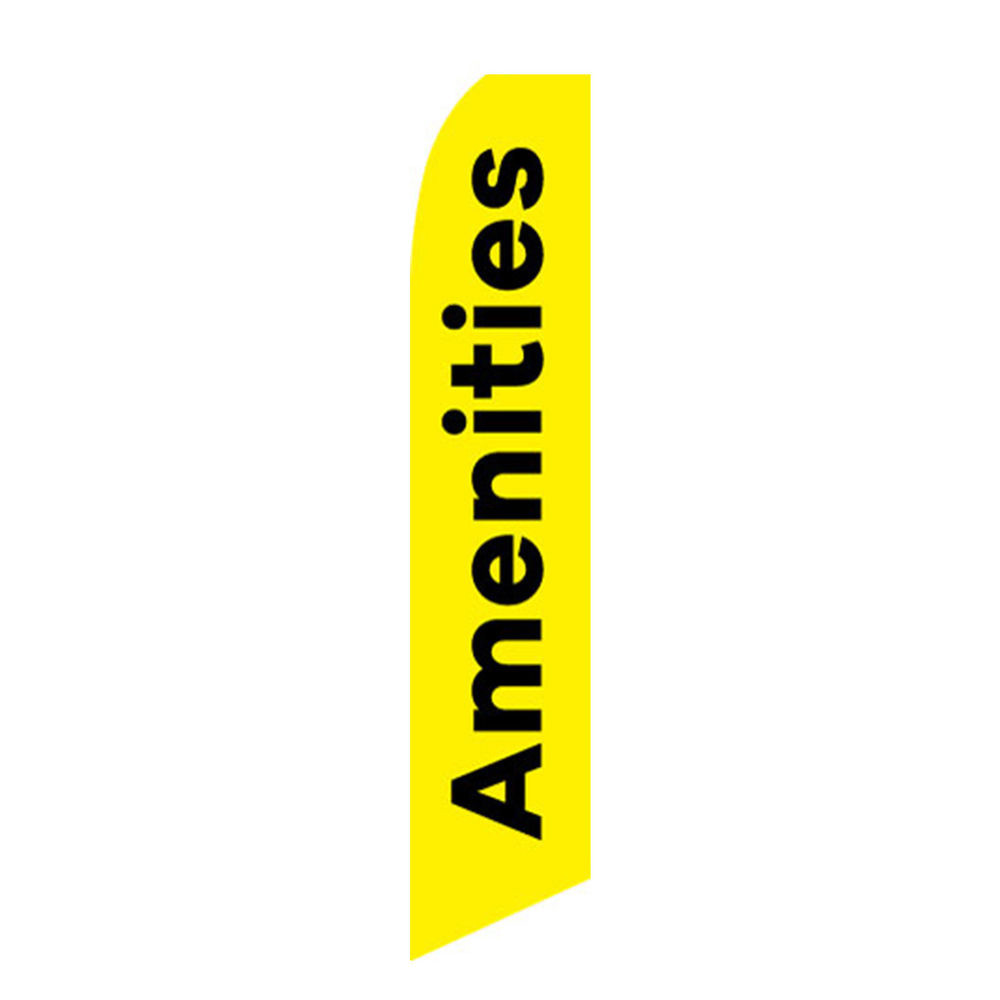 Amenities Feather Flag