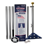 The Anthem Pole, Solar Light & Flag Set