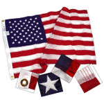 United States Nylon Flags - 16 x 24 inches thru 30 x 60 feet