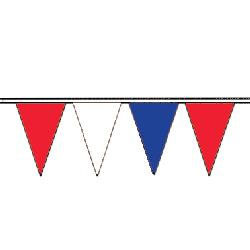 Red/White/Blue String Pennants