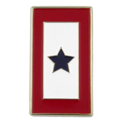 Blue Star Service Lapel Pin