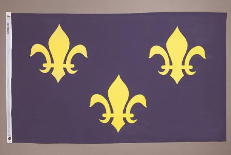 French Fleur Flag