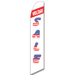Sale (Patriotic Holiday) Feather Flag