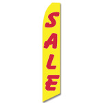 Sale - Red and Yellow - Feather Flag
