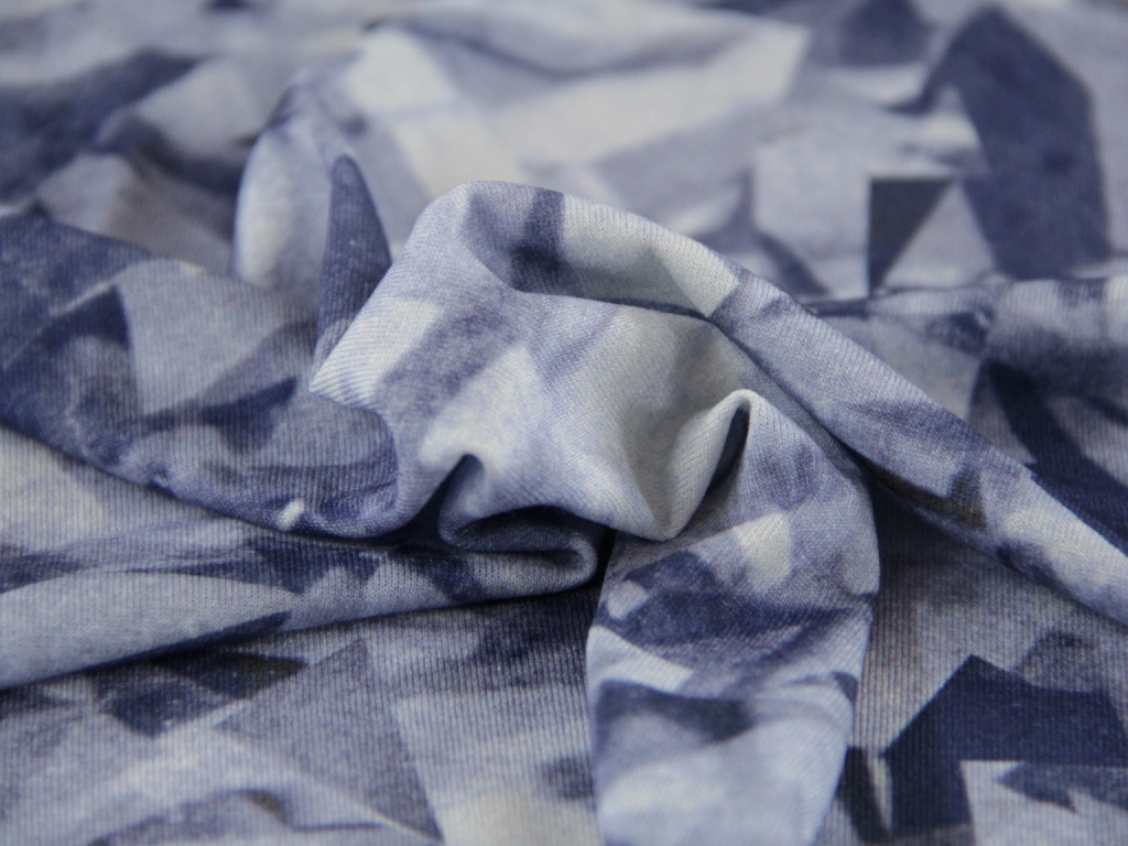 Viscose jersey dressmaking fabric