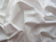 Cotton & Linen mix - White