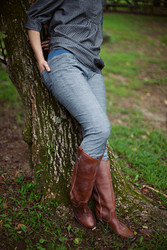 Sew Liberated simple skinny jeans pattern