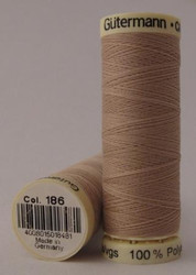 Gutermann Sew All Thread 100m - 186