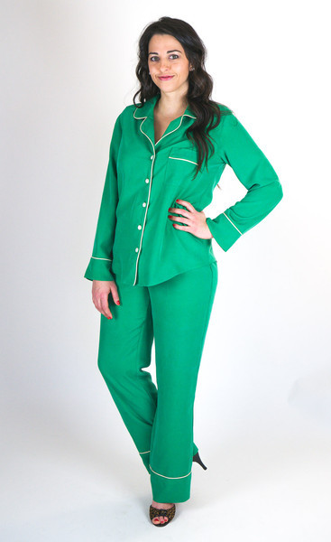 Closet case patterns Carolyn pajamas pattern