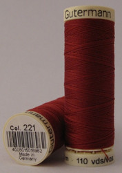 Gutermann Sew All Thread 100m - 221