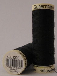 Gutermann Sew All Thread 100m - 000 Black