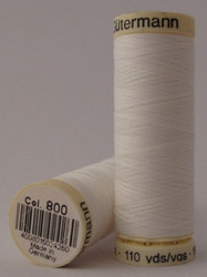 Gutermann Sew All Thread 100m - 800 White