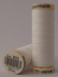 Gutermann Sew All Thread 100m - 800 White
