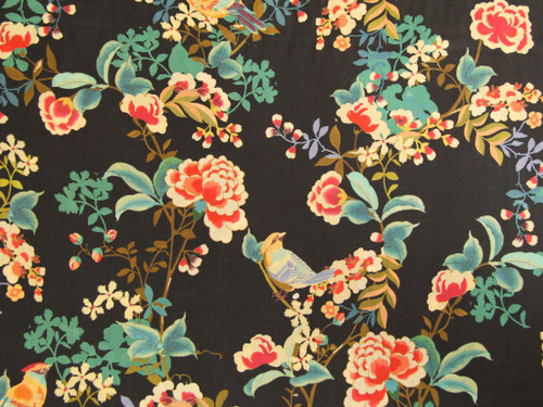 printed cotton lawn dressmaking fabric