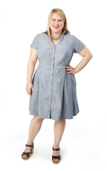 Cashmerette Lenox Shirtdress (Intermediate)