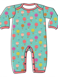 Two Stitches Patterns - Grow Babygrow (Intermediate)