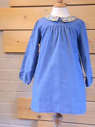 Two Stitches Patterns - Edie Blouse & Shirt Dress (Intermediate)