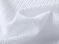 Double Gauze Cotton - White