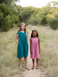 Made by Rae Geranium Dress Kids 6-12 (Beginner)