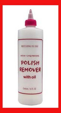 Empty Plastic Bottle - Remover 16 oz.