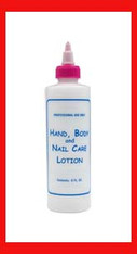 Empty Plastic Bottle - Lotion 8 oz.