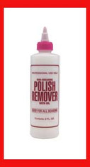 Empty Plastic Bottle - Remover 8 oz.