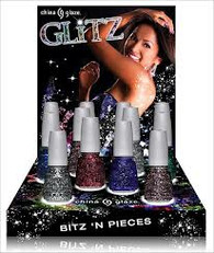China Glaze Glitz Display (24 pcs)