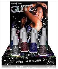 China Glaze Glitz Display (24 pcs)
