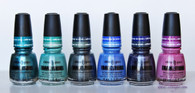 China Glaze Tranzitions (6 colors & Fast Forward Top Coat)