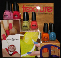 China Glaze Texture Display (36 pcs)