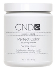 CND Pure White Powder - Opaque (16 oz)