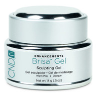 CND Brisa Sculpting Gel - Warm Pink Opaque (.5 oz)