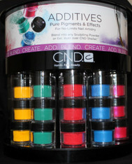 CND Additives Pigment Set (36 pcs w/Display Wheel)