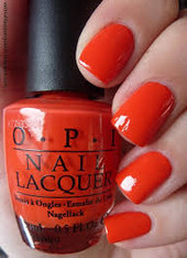 OPI Nail Polish - A Good Man-Darin Is Hard to Find (H47)