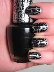 OPI Nail Polish - Black Shatter (E53)