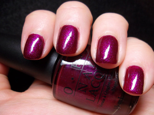 OPI Miss Congeniality is My Middle Name U01 Nail Polish Purple Pink ...