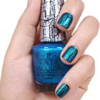 OPI Nail Polish - Turquoise Shatter (E64)