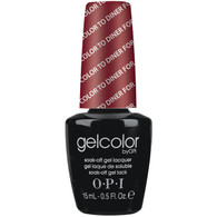 Gelcolor by OPI - Color To Diner For