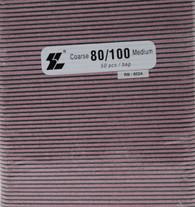 Black File w/ Pink center 80/100  (pack of 50)