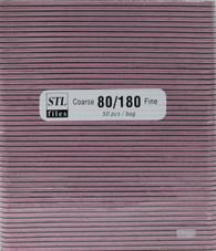 Black File w/ Pink center 80/180  (pack of 50)