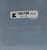 Jumbo Square White 100/100  (pack of 50)