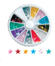 Rhinestone Wheels Stars